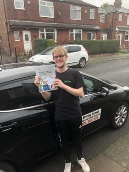 Well done Matthew for a first time pass at Bolton.  Its been a pleasure.  Stay safe on the roads.