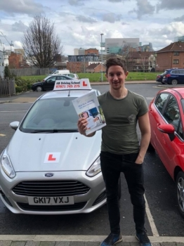 Congratulations to Alex Jackson for passing his practical test this afternoon at Sale test centre. <br />